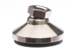 High Value Series Socket Style w/Elastomer Pad - Steel w/Nickel Finish -- HVEP298B3 - Image