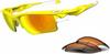 Oakley Fast Jacket XL Sunglasses with Lemon Peel Frame and -- OK-OO9156-11