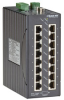 LEH1200 Series Class 1, Div. 2 Hardened Managed Switch - 16-Port 10/100-Mbps, 2-Port Gigabit Copper/Multimode Fiber, SC -- LEH1216A-2GMMSC