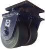 Kingpinless Dual Wheel Casters -- 2-85 Series