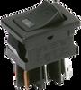 Miniature 2 Pole Power Rocker Switches -- DM Series - Image