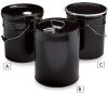 DIXIE 5-Gallon Steel Pails -- 7461400 - Image