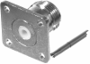 RF Coaxial Panel Mount Connector -- RFN-1021-1 -Image