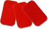 3M 989-72 Diamond Grade Reflective Stickers, Red, 2