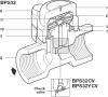 Stainless Steel Balanced Pressure Thermostatic Steam Trap -- BPS32 - Image