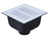 12 in. Square x 6 in. Deep Sanitary Floor Sink -- FS-730 -- View Larger Image
