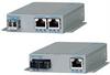 10/100/1000BASE-T to 100BASE-X Media Converter with Power over Ethernet -- OmniConverter™ FPoE/SE and FPoE+/SE