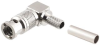 Micro BNC Connectors, Right Anglr Cable, Plugs -- MBNCLP-1855A - Image