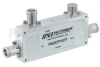 Low PIM Directional 20 dB 4.1/9.5 Mini DIN Coupler To 2.7 GHz Rated to 200 Watts -- PE2CP1071