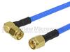 SMA Male to RA SMA Male Cable FM-F141 Coax in 24 Inch -- FMC0204141-24 -Image