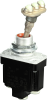 MICRO SWITCH TL Series Toggle Switch, Single Pole Double Throw (SPDT) 3 Position (On - Off - On), Screw Terminals, Bar Actuator With 3 Fluorescent Buttons Attached to Lever By A Locking Type Internal -- 1TL133-1