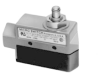 MICRO SWITCH E6/V6 Series Medium-Duty Limit Switches, Top Plunger Actuator, 2NC 2NO DPDT Snap Action, 0.5 in - 14NPT conduit -- DTE6-2RQ -Image
