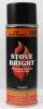 Architectural Coating Stove Bright 1990 Satin Black Aerosol -- 1A62H290 - Image