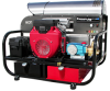 Hot Pressure Washer Skid Honda GX630 4000psi@5gpm Ele. start -- HF-6012PRO-15C