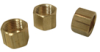 Brass Compression Nut - Less Insert -- No. 61