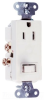 Combination Switch/Receptacle -- 681-W -- View Larger Image