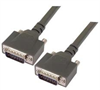 Heavy Duty D-sub Cable, DB15 Male / Male, 2.5 ft -- CPMS15MM-2.5 -Image