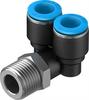 QSYL-3/8-1/2-U Push-in T-fitting -- 153792 -Image