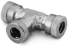 Stainless Steel Tubing Fittings for Vacuum Applications -- Tees
