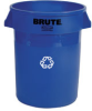 Brute® Recycling Container 32 Gallons -- RP2632-06 - Image