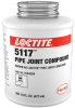 Loctite 5117 Thread Sealant - Brown Liquid 1 pt Can - 00114 - Formerly Known as Loctite Pipe Joint Compound - -- 079340-00114