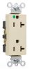 Duplex/Single Receptacle -- 26322-HGW -- View Larger Image