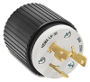 30A Electrical Plug: locking, 250VAC, NEMA L6-30 -- 70630NP