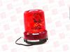 PATLITE RLR-M1-P-R ( WARNING LIGHT, ROTATING LED, DUAL REFLECTOR, BRUSHLESS MOTOR, IP66, 120MM BASE, DIRECT MOUNT. RED,DC12V & DC24V )