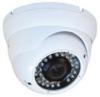 Weatherproof Infrared Turret Dome Camera 600 TV Lines
