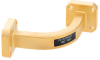 WR-28 Instrumentation Grade Waveguide E-Bend with UG-599/U Flange Operating from 26.5 GHz to 40 GHz -- PE-W28B003 - Image