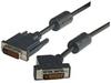 DVI-D Dual Link LSZH DVI Cable Male / Male 45 Degree Left, 10.0 ft -- MDA00038-10F -- View Larger Image