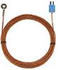 050897B-T - Digi-Sense Type-T Bolt-On Probe 0.62Inod Mini Conn GRD 25Ft Strt Fiberglass Cable -- GO-08525-84