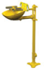 S19214FW - Bradley HALO Eye/Face wash, Pedestal mount, ABS plastic -- GO-86001-30 -- View Larger Image