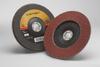 3M Cubitron II 967A Type 27 Coated Ceramic Aluminum Oxide Flap Disc - 80 Grit - 7 in Diameter - 55613 -- 051141-55613 - Image