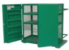 Cabinet,Mesh,48 Wx28 Dx52 In H,37.3Cu-Ft -- 6ZEZ4