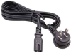 6ft Angled USA to C7 power cord -- P-11T13-06B