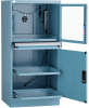 Computer Cabinet with Two Roll-Out Shelves (30
