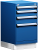 Stationary Compact Cabinet with Partitions -- L3ABG-2819L3D -Image