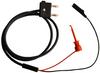Stacking Double Banana Plug Test Cable RG58C/U to X100W Mini-Hook and Alligator -- 1051 -Image