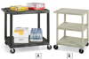 LUXOR Flush-Shelf Carts -- 4712127