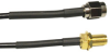 TerraWave Solutions 18-Inch RP-SMA Jumper Cable -- 100-20-30-P18