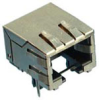 Input-Output Connectors, Modular Jack, Single Port, Modular Jack Single Port, Horizontal, Plating (Contact)=0.38 µm (15 µin.) Gold -- 92250-188LF