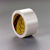 Scotch® Bi-Directional Filament Tape 8959 Transparent, 50 mm x 50 m, 18 per case -- 8959