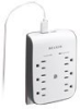 Belkin USB Charging 6-outlet Surge Protector - surge suppressor -- BV106050-CW