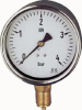 DRF22 - Brass Bourdon Tube Pressure Gauge