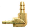 Brass Multi-Barbs Barbed Elbow Hose -- BHBE-4-2 - Image