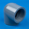 90° CPVC Threaded Pipe Elbows -- 29102 - Image