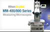 MM400/800 Series Measuring Microscopes -- View Larger Image