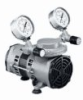 Vacuum/pressure diaphragm pumps, PTFE-coated wetted parts, 0.55 cfm, 220 VAC -- GO-79200-35