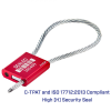 4 mm Barcoded Cable Seal -- Cablelock 4 - Image
